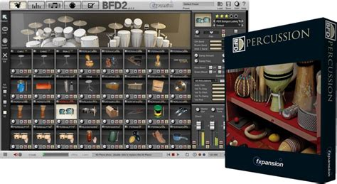 Fxpansion Bfd Kit 1 fxpansion bfd percussion expansion pack sweetwater