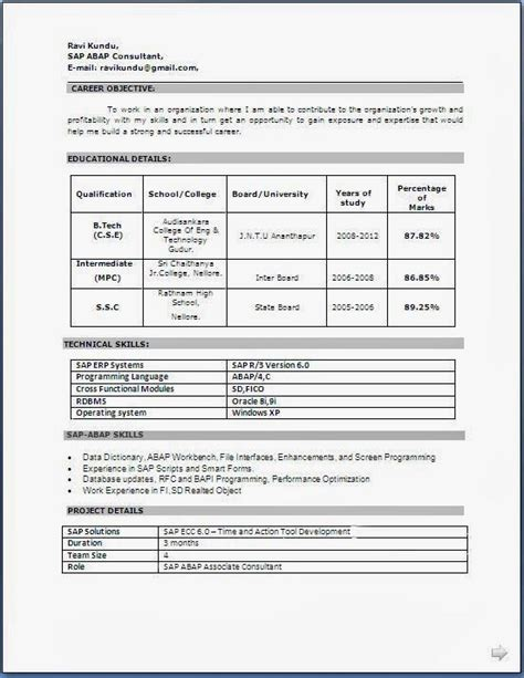 Resume Format In Word Free by Resume Format Free In Word Gentileforda