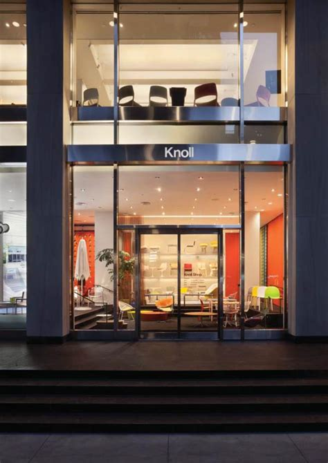 knoll home design store nyc knoll new york flagship showroom offices and shop aro