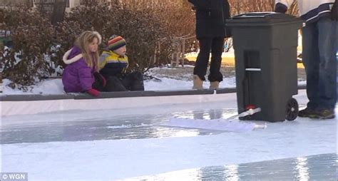backyard ice rink zamboni man s homemade ice rink is his back yard is a hit with his