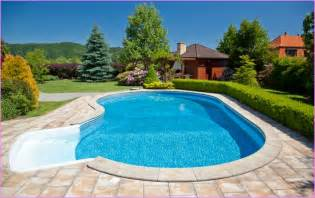 swimming pool landscaping ideas home design ideas