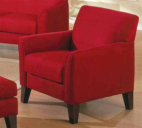red sofa chair homelegance petite chair red 9913rd 1