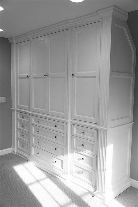 Built In Bedroom Cabinets Closets Master Bedroom Built Ins Home Ideas