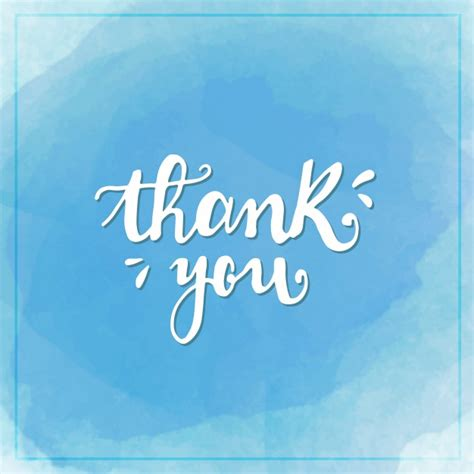 thank you background watercolor thank you background vector free