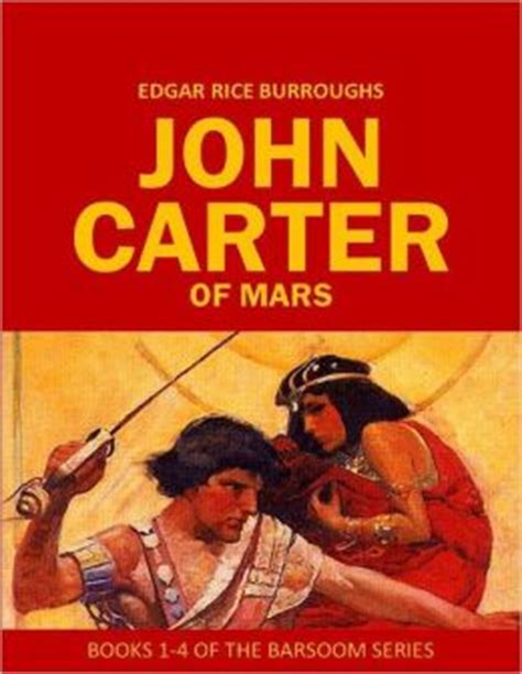the of mars books of mars books 1 4 of the barsoom series by