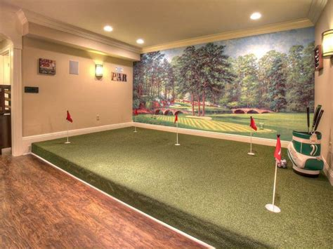 1000 ideas about indoor putting green on golf