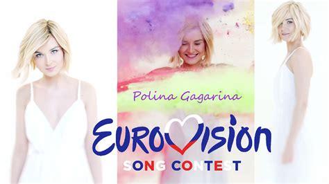 polina gagarina eurovision  wallpaper   sicilium  deviantart