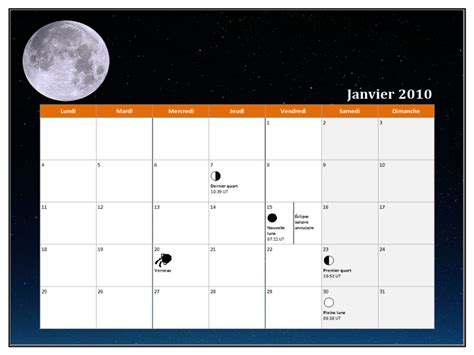 Calendrier Microsoft Office Calendriers Office