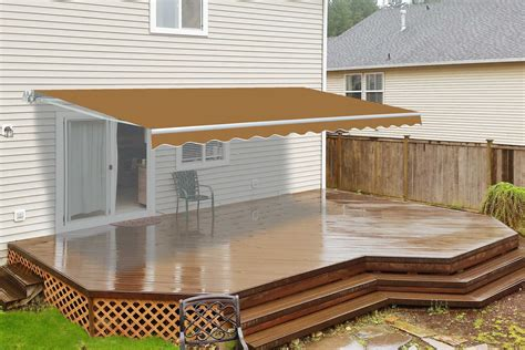 Aluminium Awnings Prices by Awning Installation Cost Deck Labor For Aluminum Prices