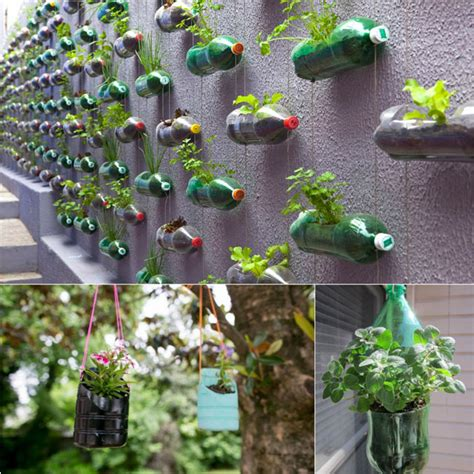 Things To Use As Planters by Great Crafts Made With 2 Litre Pop Bottles
