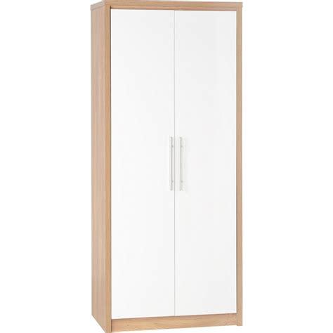 amazing 3 wardrobe set in white high gloss