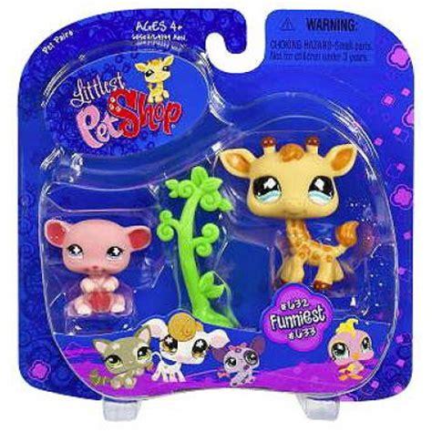 puppy shoo walmart littlest pet shop pet pairs giraffe pink mouse figure 2 pack walmart