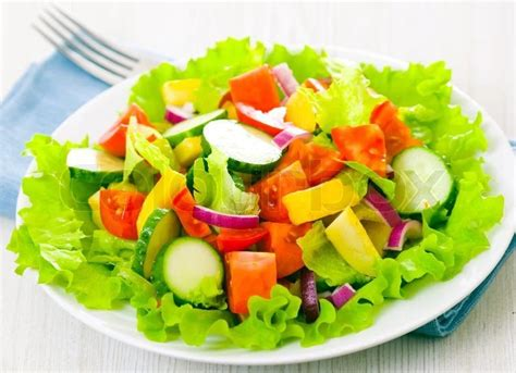 vegetables types of salaad naij recipe how to make vegetable salad naij