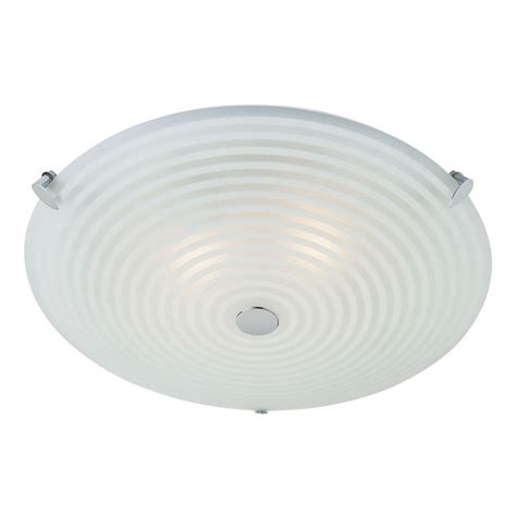 Indoor Ceiling Light Endon Lighting 633 32 Glass Semi Flush Ceiling Light