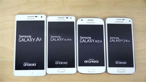 Galaxy V Ace 4 V samsung galaxy a5 vs galaxy alpha vs galaxy s5 mini vs