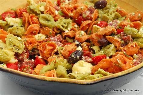 tortellini pasta salad tortellini pasta salad recipes dishmaps