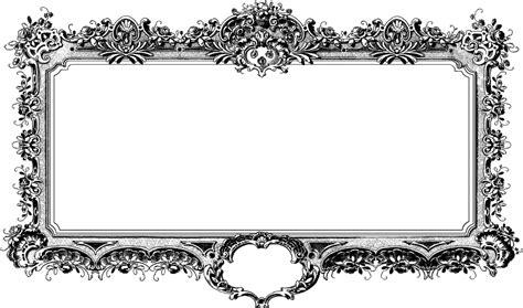 Cadre Photo Noir Et Blanc by Baroque Antique Cadre Noir Et 183 Image Gratuite Sur Pixabay