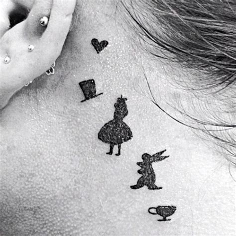 alice in wonderland wrist tattoos 208 best images about tattoos on fonts owl
