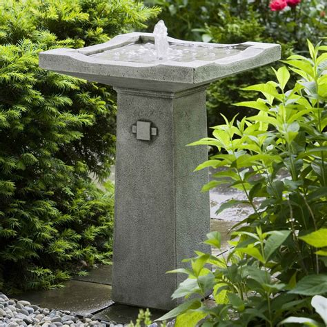caring for your bird bath outdoor fountain bird bath