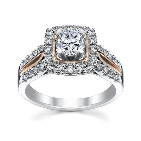 5 rose gold engagement rings she ll love robbins