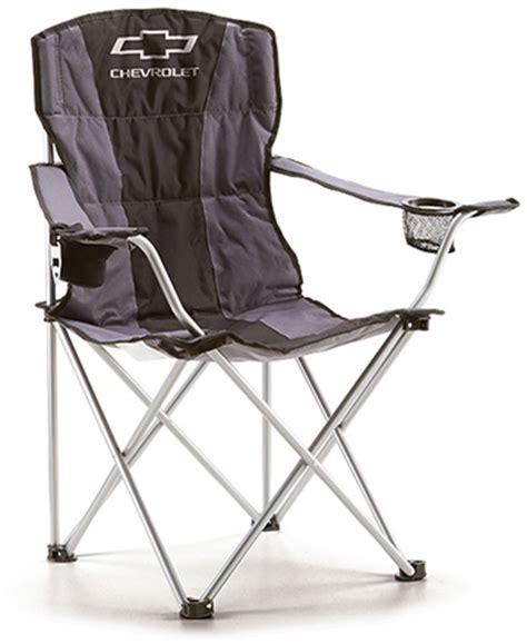 chevrolet premium folding chair chevymall