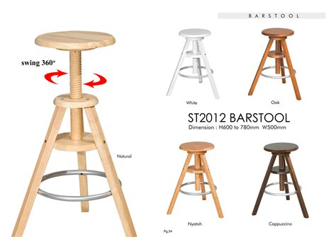 20 most exemplary adjustable barstool elegant white minimalist solid swivel adjustable height wooden bar stool solid rubber wood