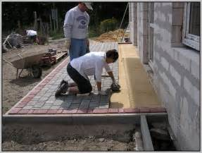 How To Lay Patio Pavers On Dirt Laying Patio Pavers On Concrete Patios Home Design Ideas Dley8gk693