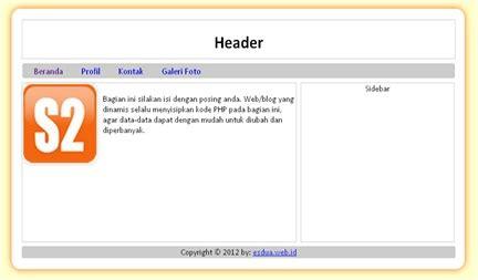 desain layout web dengan css desain layout web blog menarik dengan css dan fungsi div