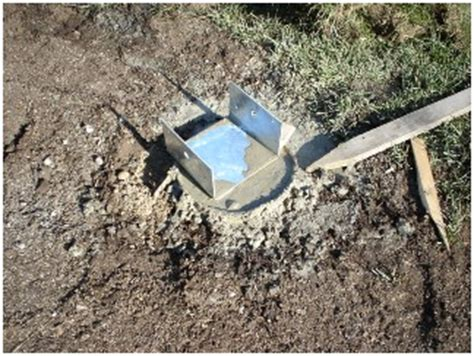 Shed Footings by Shed Foundation Construction Methods