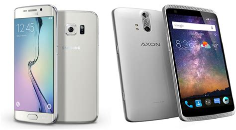 Samsung Zte Zte Axon Vs Samsung Galaxy S6 Can A Budget Phone Be Enough Extremetech