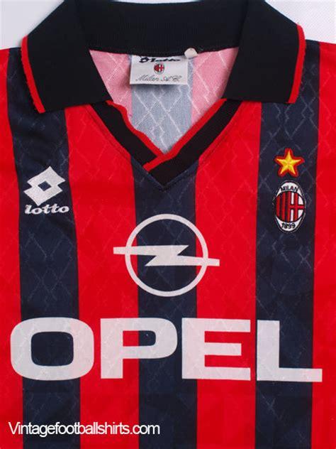 Jersey Ac Milan Home 1995 1995 96 ac milan home shirt m for sale