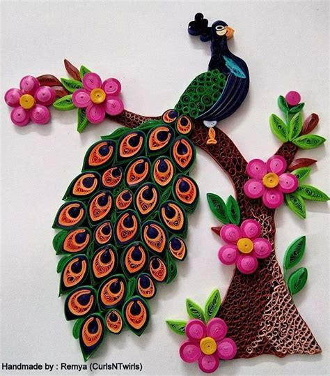 paper quilling peacock tutorial 248 best images about quilling peacocks on pinterest