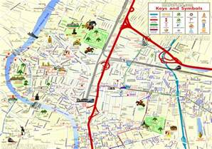 bangkok map tourist attractions bangkok map great things to do with family 3