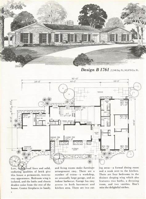 pinterest old layout old ranch house plans luxury best 25 vintage house plans