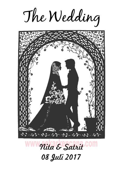desain gambar sablon manual desain sablon unik dan lucu untuk souvenir pernikahan