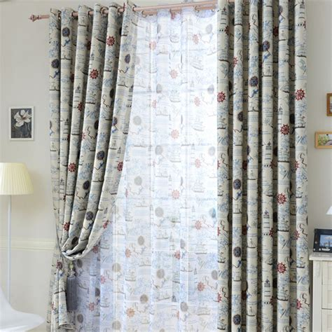 boys nautical curtains online get cheap nautical curtains aliexpress com