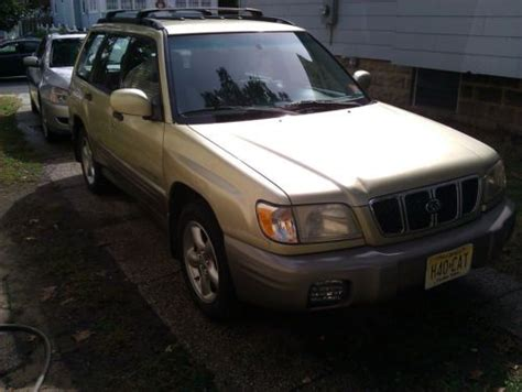 2002 green subaru forester sell used 2002 subaru forester s green awd runs and drives