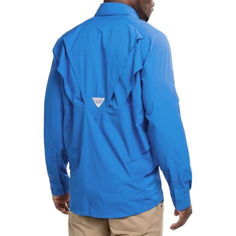 Tshirt Chill Out Biru Zero X Store columbia sportswear pfg airgill chill zero shirt for