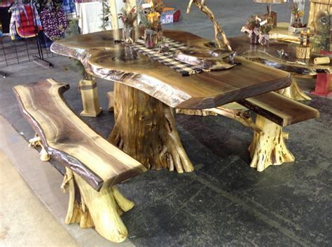 log kitchen table and chairs rustic log table rustic log cabin furniture cedar log