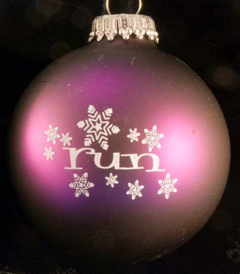 run w snowflakes christmas ornament 8 00 wyvern