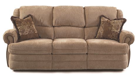 sofa reclinable lane hancock double reclining sofa