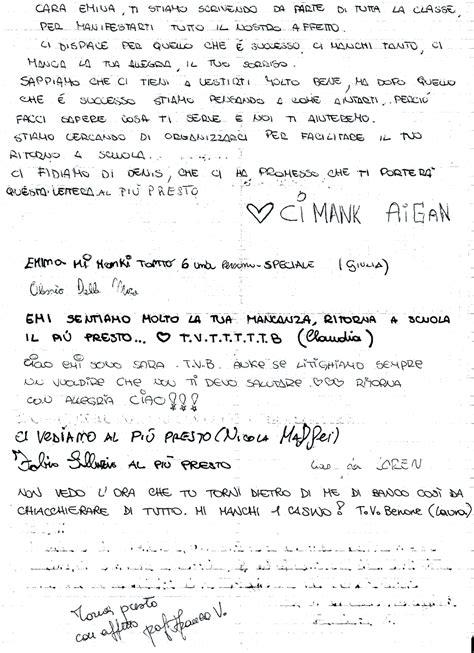 lettere di amicizia mahalla
