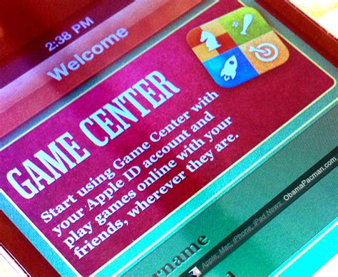 apple game center how to play multiplayer game center games obama pacman
