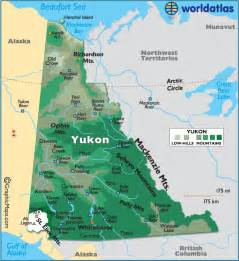 Yukon Canada Map yukon territory colouring pages page 3