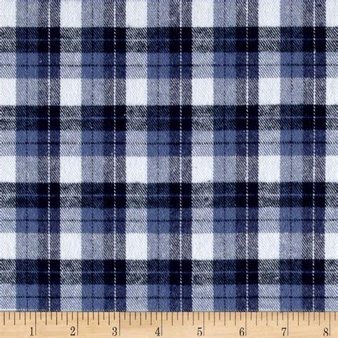 Kemeja Flannel Tartan Brown White yarn dyed flannel plaid blue white discount designer