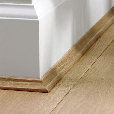 Skirting Quad Scotia Beading Floating Bamboo Laminate
