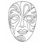 Coloriages &amp Dessins De Masques