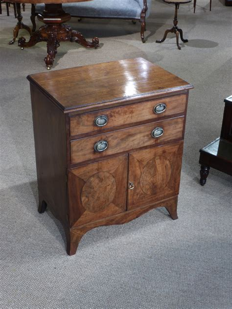 Commode Pot by Antique Bedside Cupboard Converted Commode Antique Pot