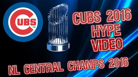 new year for cubs cubs 2016 hype nl central chs this is the