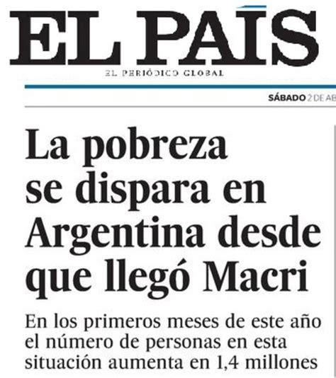 aumento en el progresar macri hasta el pa 237 s advierte que en argentina aument 243 la